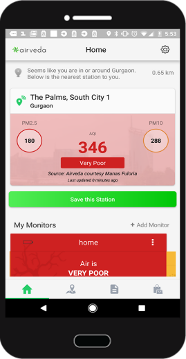 REAL-TIME DATA & AQI
