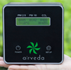 Airveda PM2.5, PM10, CO2, Temp, Humidity Monitor