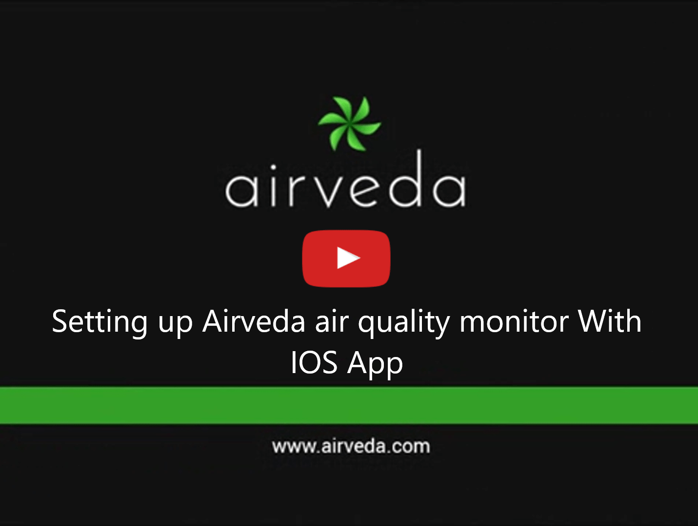 Tutorial[For existing Airveda iOS app users] - Setting up your Airveda monitor to connect with Airveda IOS app