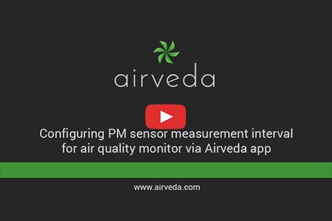 Tutorial - Configuring PM measurement frequency via app